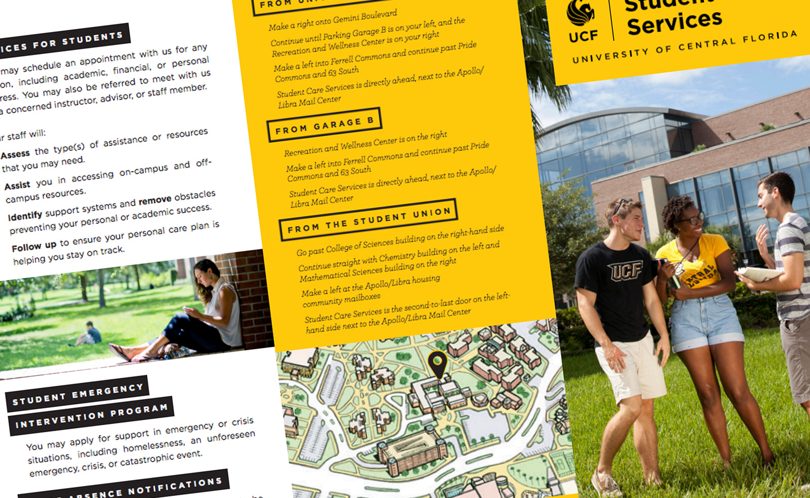 student care services brochure