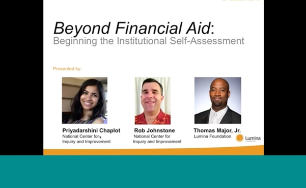 beginning beyond financial aid assessment