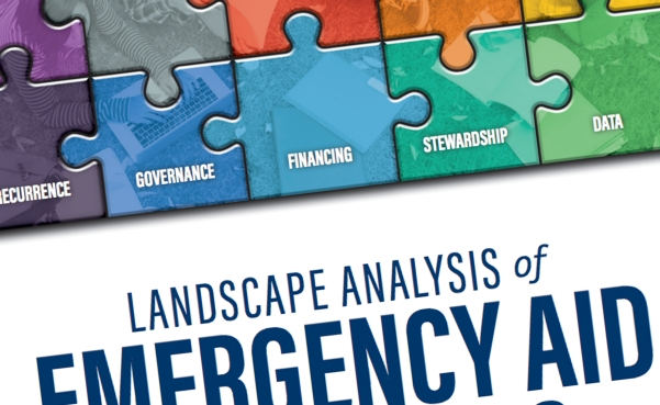 landscape analysis of emergency aid